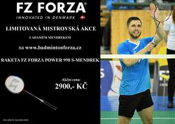 Badmintonová raketa FZ FORZA Power 988 S - MENDREK